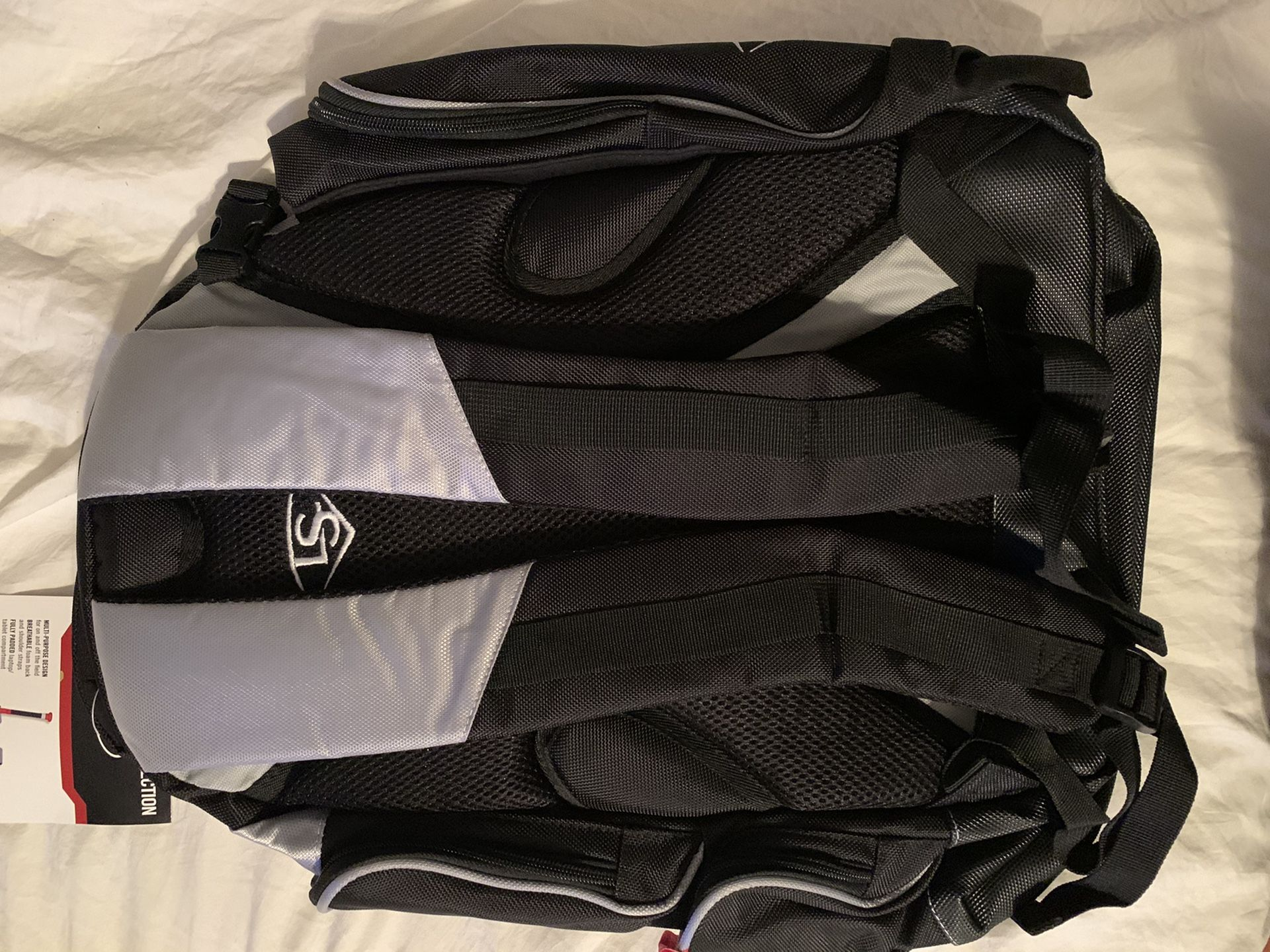 Louisville slugger baseball backpack