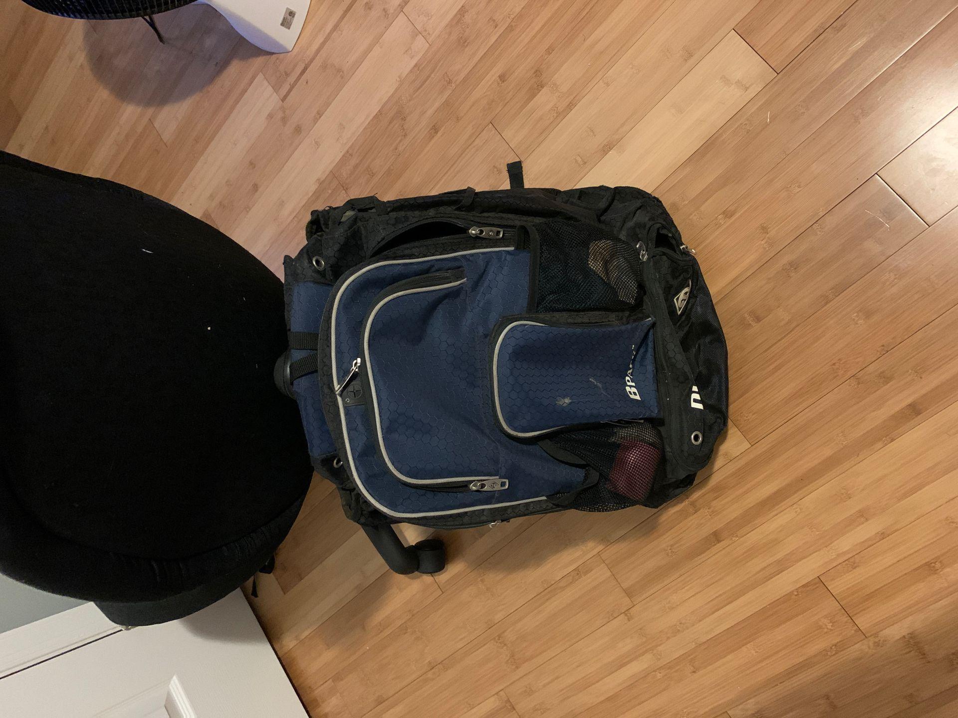 Diamond baseball backpack