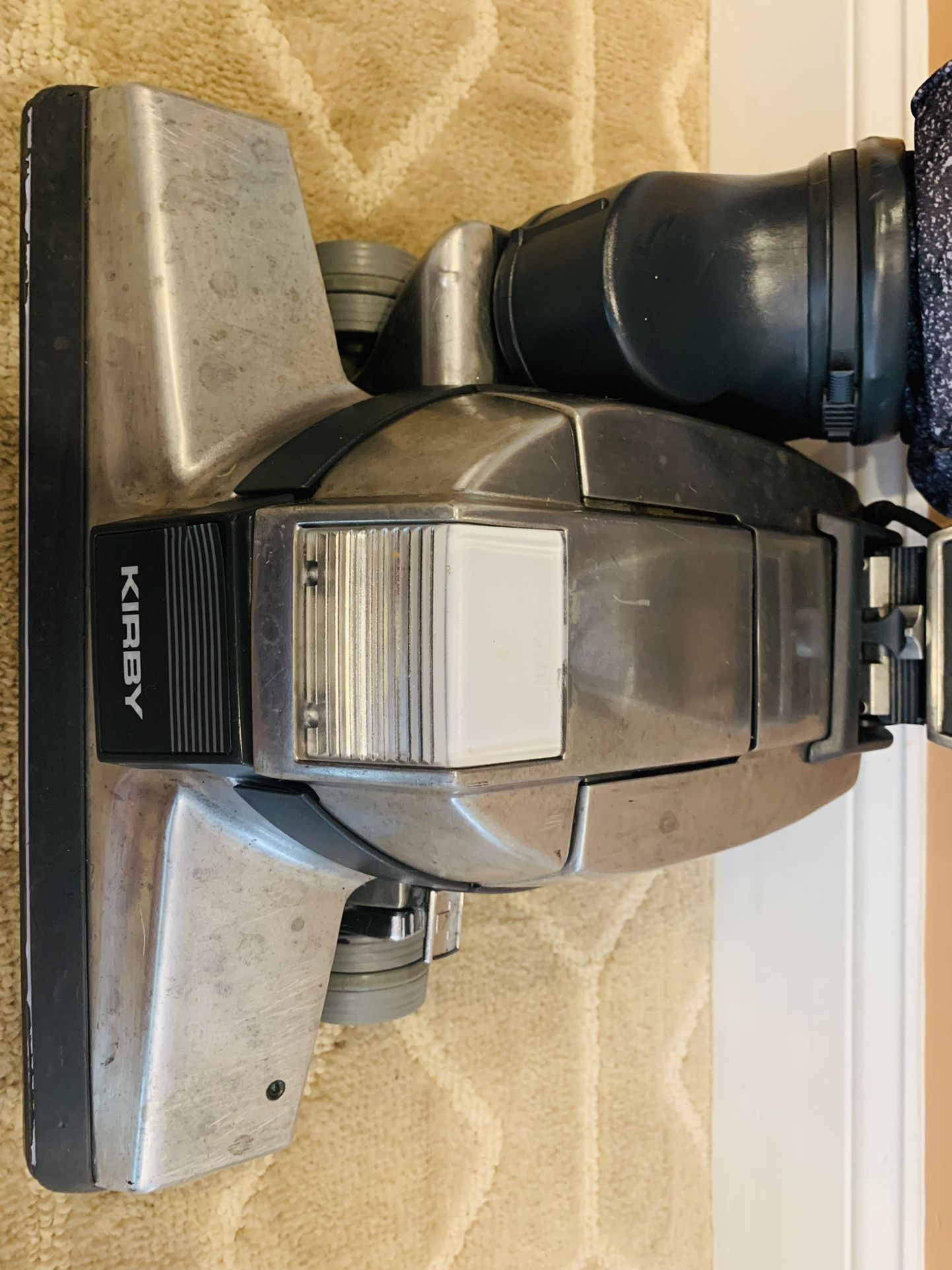 Kirby G4 vacuum cleaner with attachments and shampooer