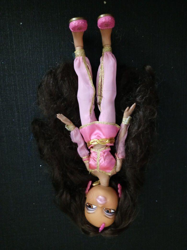 Bratz Brunette Pink Harem Outfit Vintage Doll