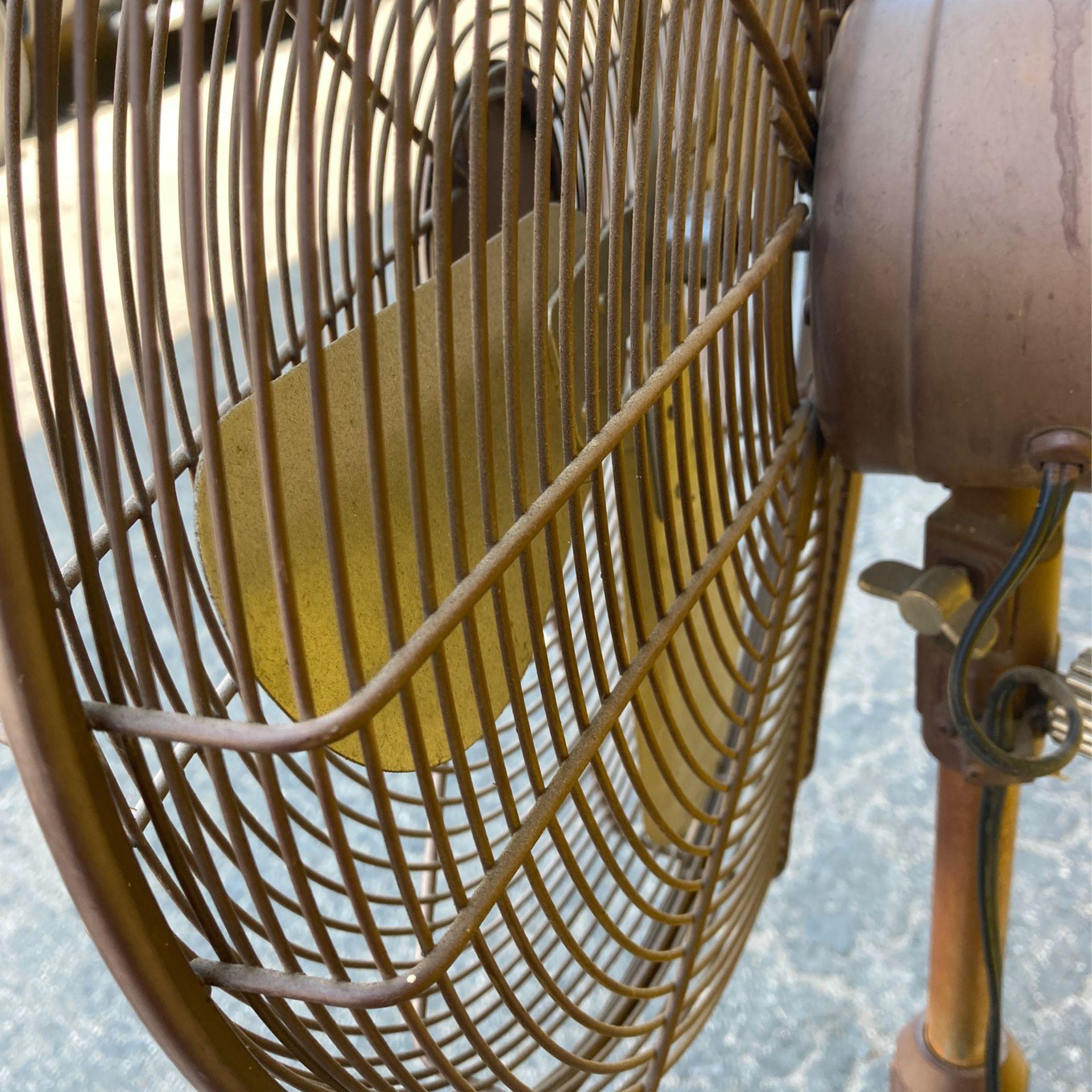 Hampton Bay  Pedestal Vintage Fan. Has Speed Settings And Oscillating.