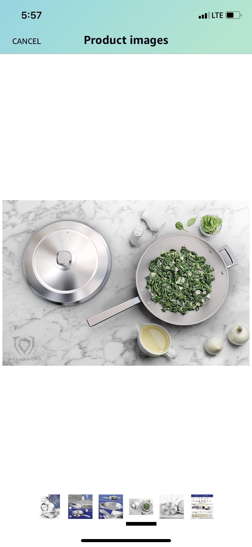 Cookware pan 12 inch