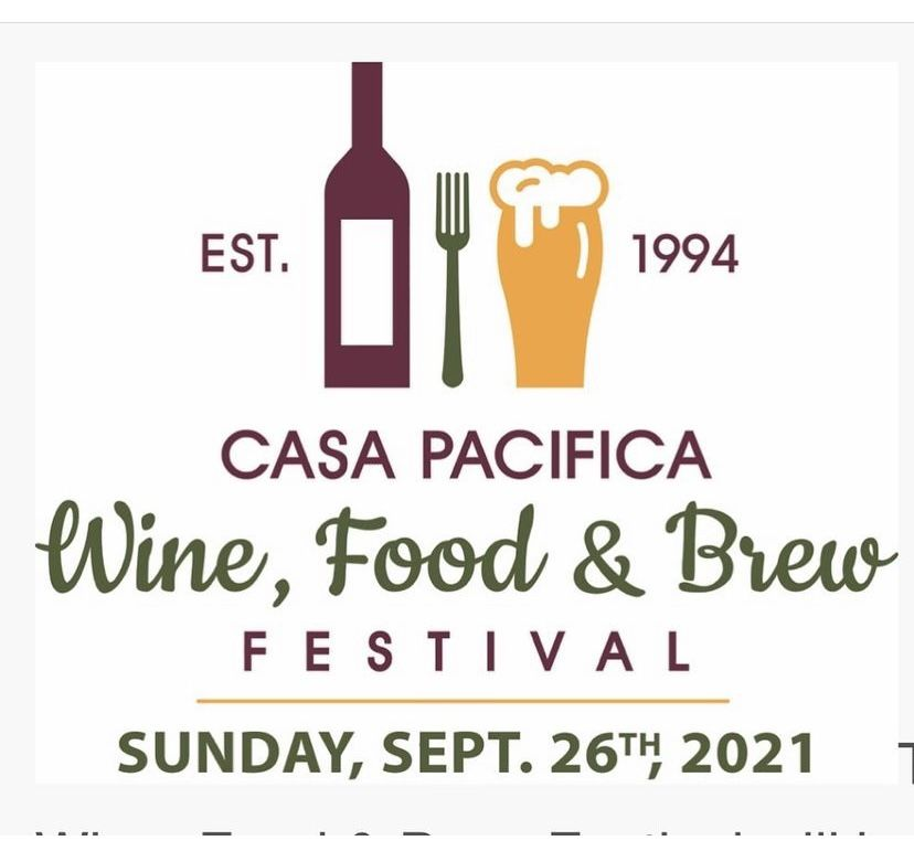 2 Tickets To casa Pacifica food And wine Fest!  $75 Each, paid $150 Ea