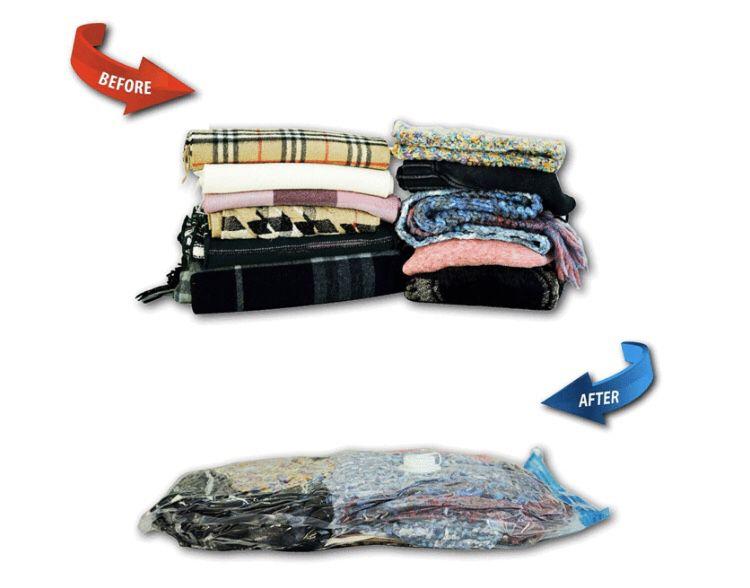 Vacuum Storage Bags   Variety 12 PACK or Jumbo 8 Pack