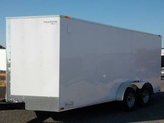 ENCLOSED TRAILERS ALL SIZES-20 24 28 32 VNOSE-SNOWMOBILE CAR HAULER STORAGE MOVING MOTORCYCLE ATV UTV QUAD SIDE BY SIDE Thumbnail