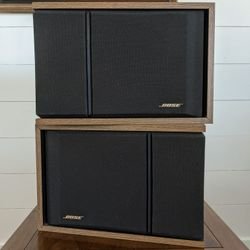 Bose 201 Series III Direct Reflect Stereo Speakers, Wood Grain Thumbnail