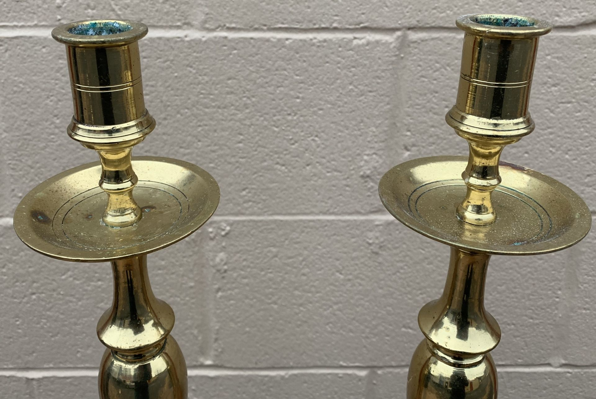 ***18 inch Solid Brass Candle Holders/ Candlesticks ***