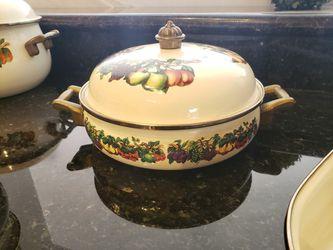 Vitroceramic cookware set Thumbnail