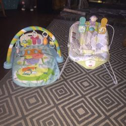 Baby Bouncer And Baby Tummy Kick & Play Thumbnail