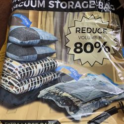 Vacuum storage Bags Brand New, With Free Hand Pump Thumbnail