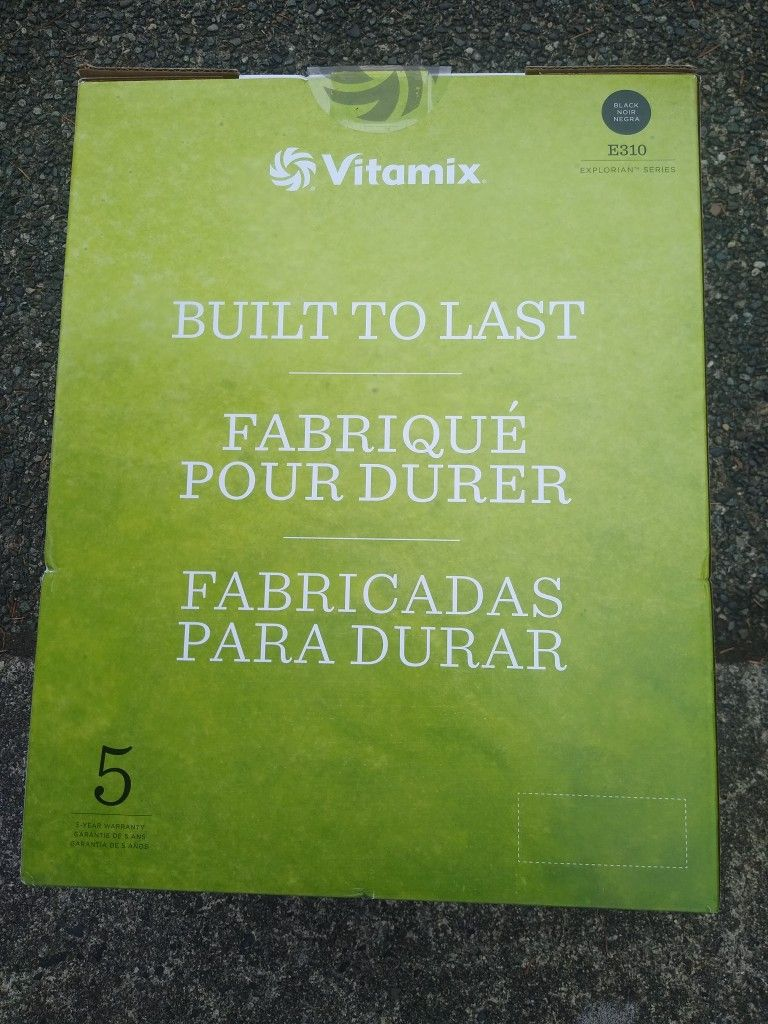 Vitamix E 310 Series Blender(In Stores At $349 Make An Offer For Pickup Today)