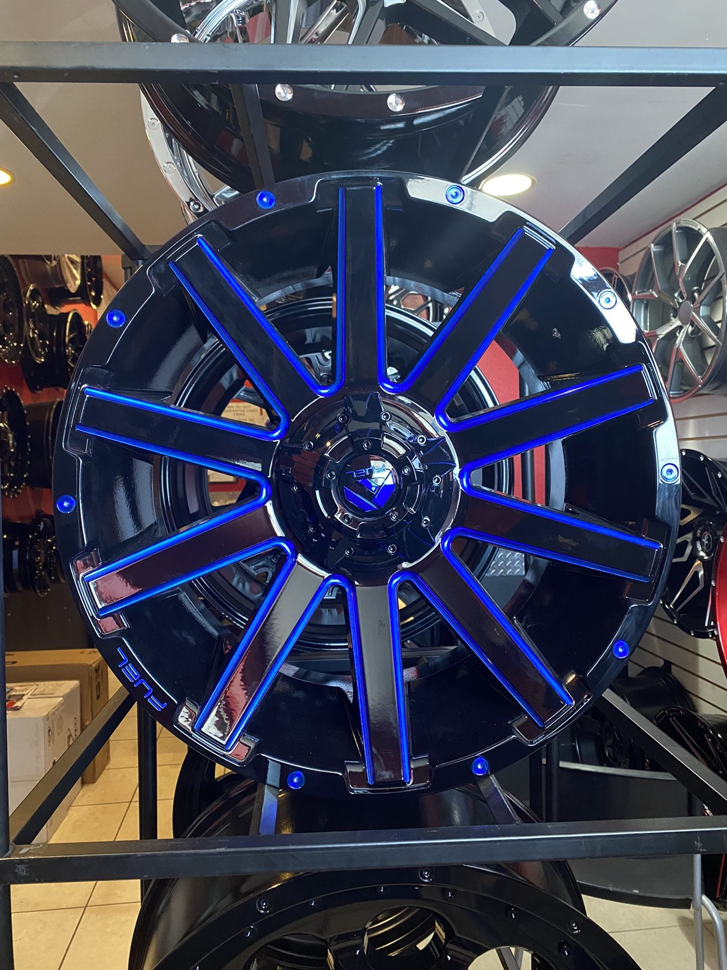 FUEL BLUE FOR F150! TIRES! FINANCING