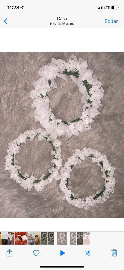 wreath headband wedding bridal Diadema Corona Para Boda
