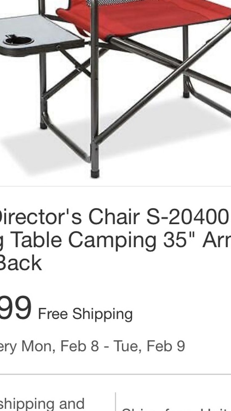 Director Chair Model S-20400