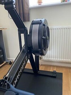 Concept 2 Model D Rowing Machine With PM5 Black  Thumbnail