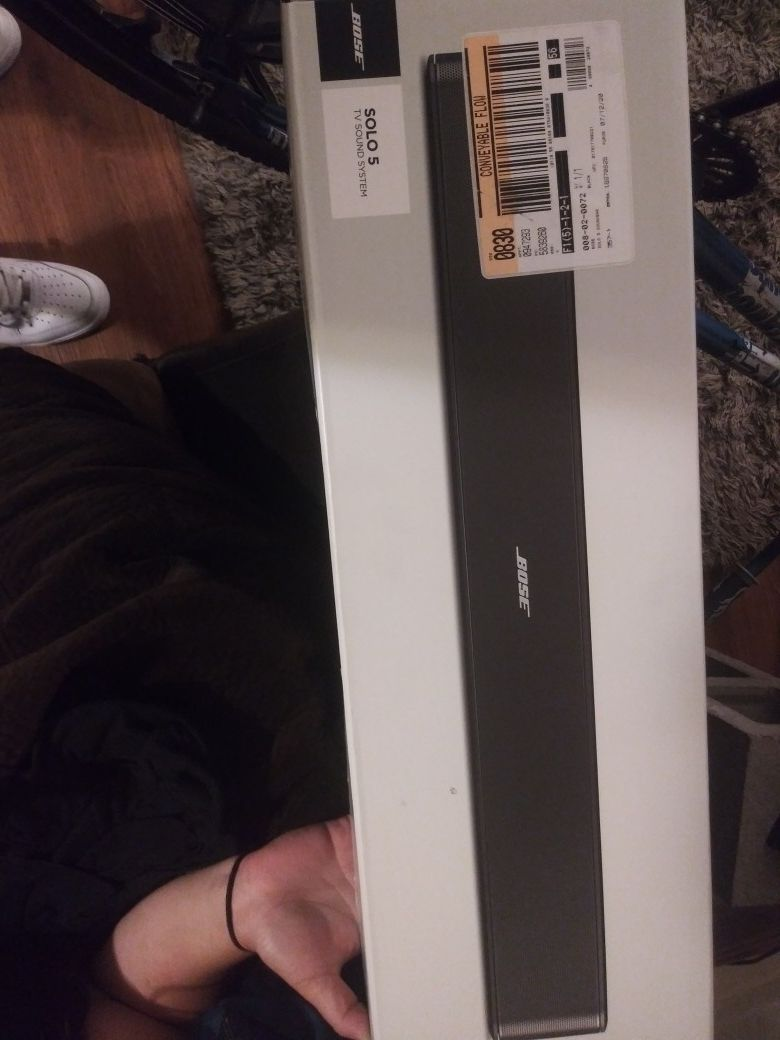 Bose solo 5 tv sounds system