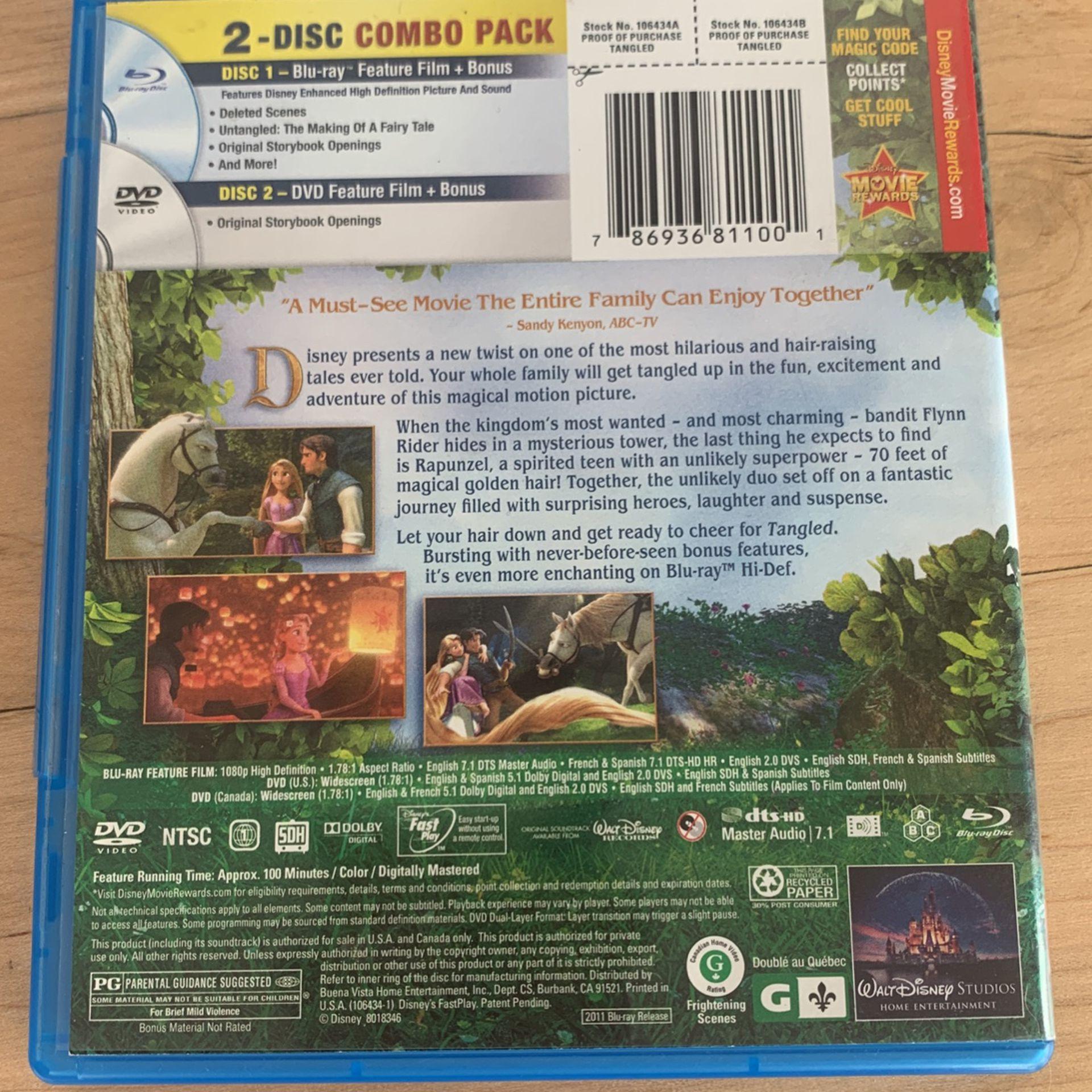 Tangled Blu-ray+DVD