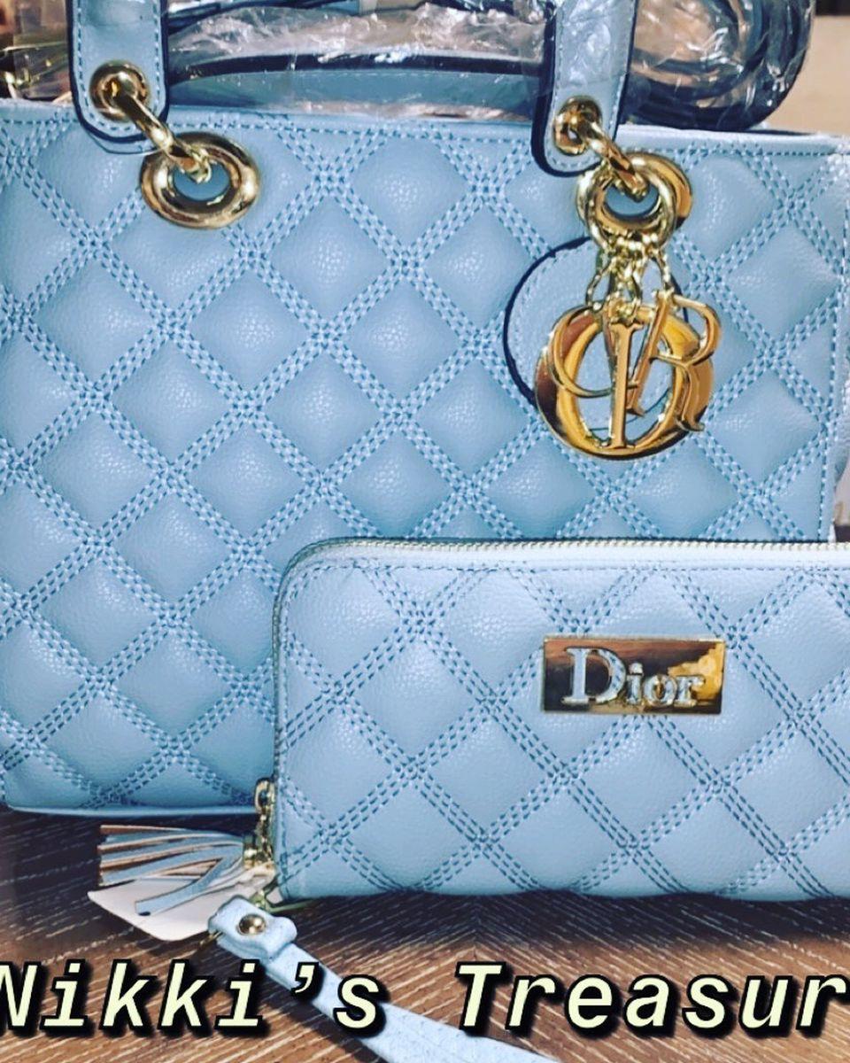 Designer Bag And Wallet Set