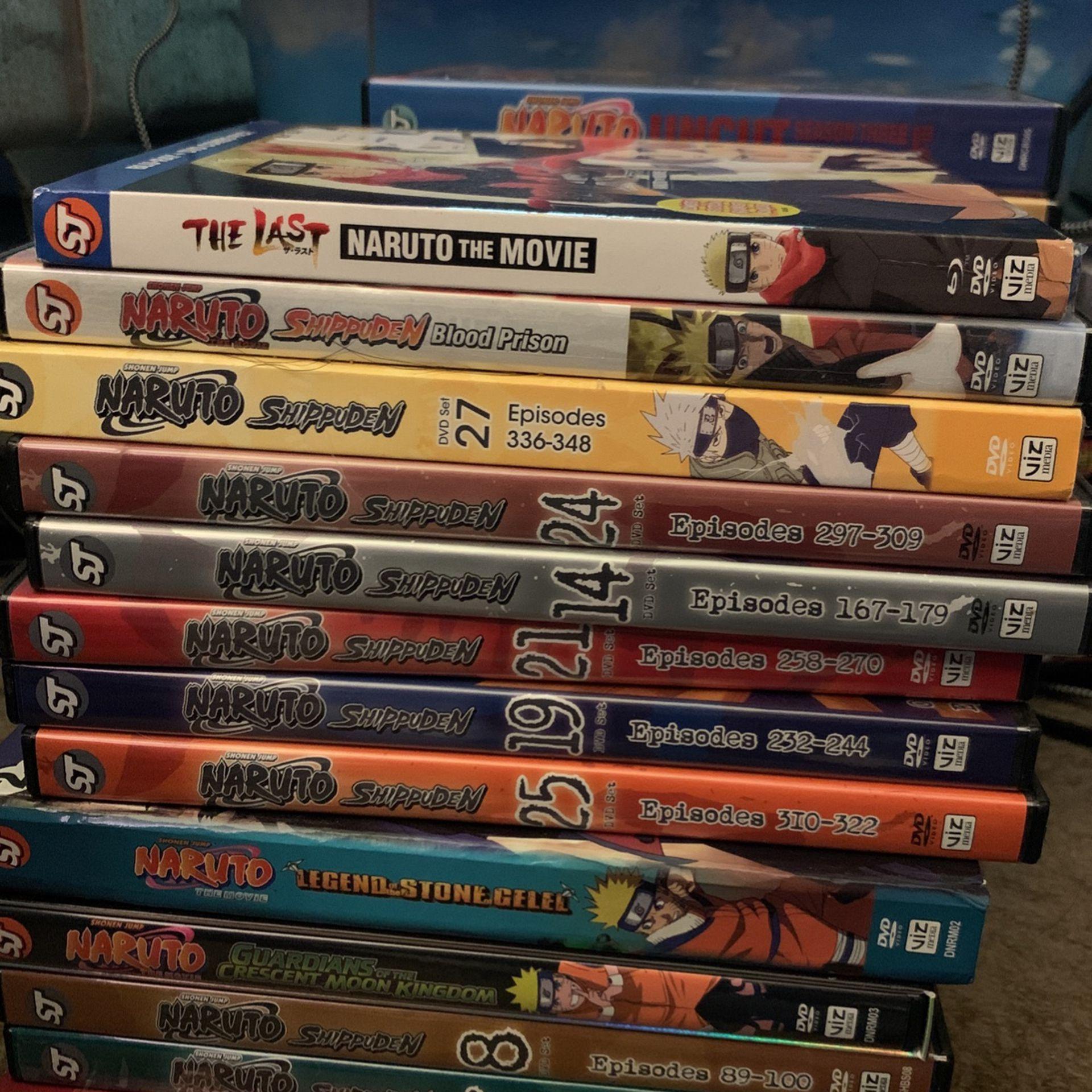 Naruto And Naruto Shippuden/Naruto Movies
