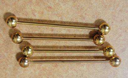 14 Gauge industrial ear Jewelry Thumbnail