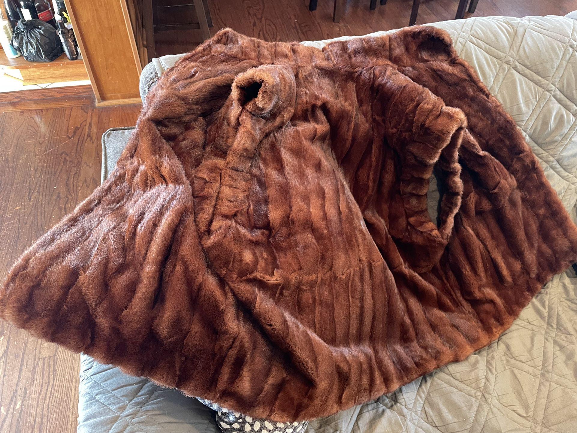 Real Fur Vest Size M/L