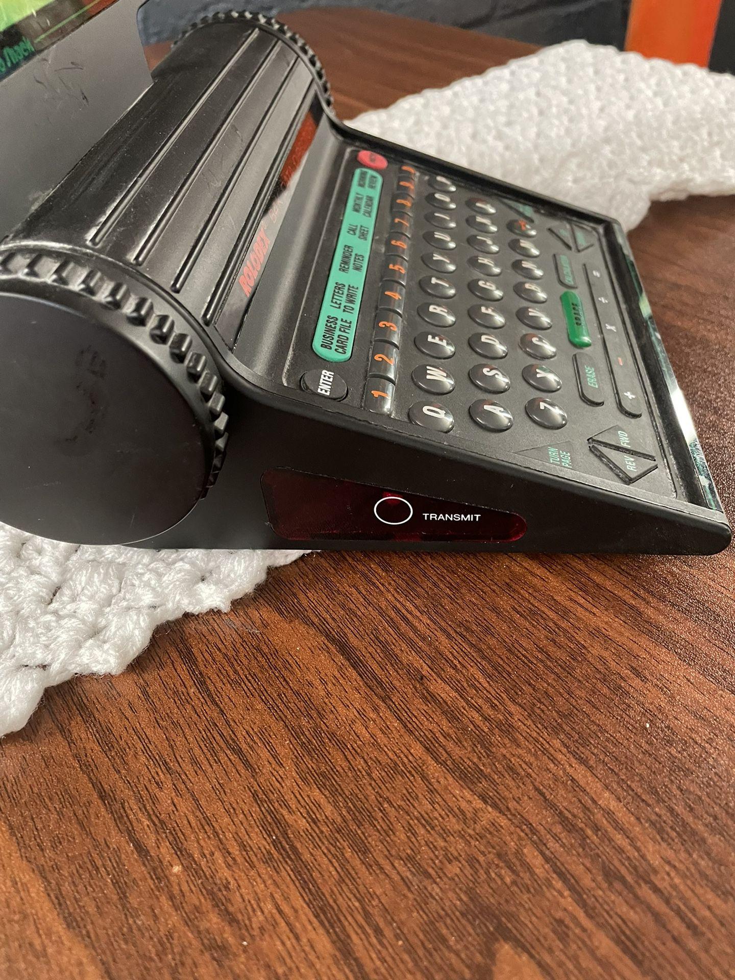Vintage Electronic Rolodex