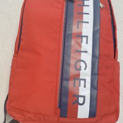 Tommy Hilfiger Men's  backpack Red-New Thumbnail