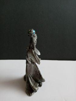Vintage Perth Pewter Figurine SIGNED Thumbnail