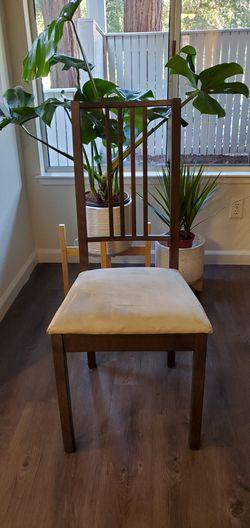 2x Wood Chairs