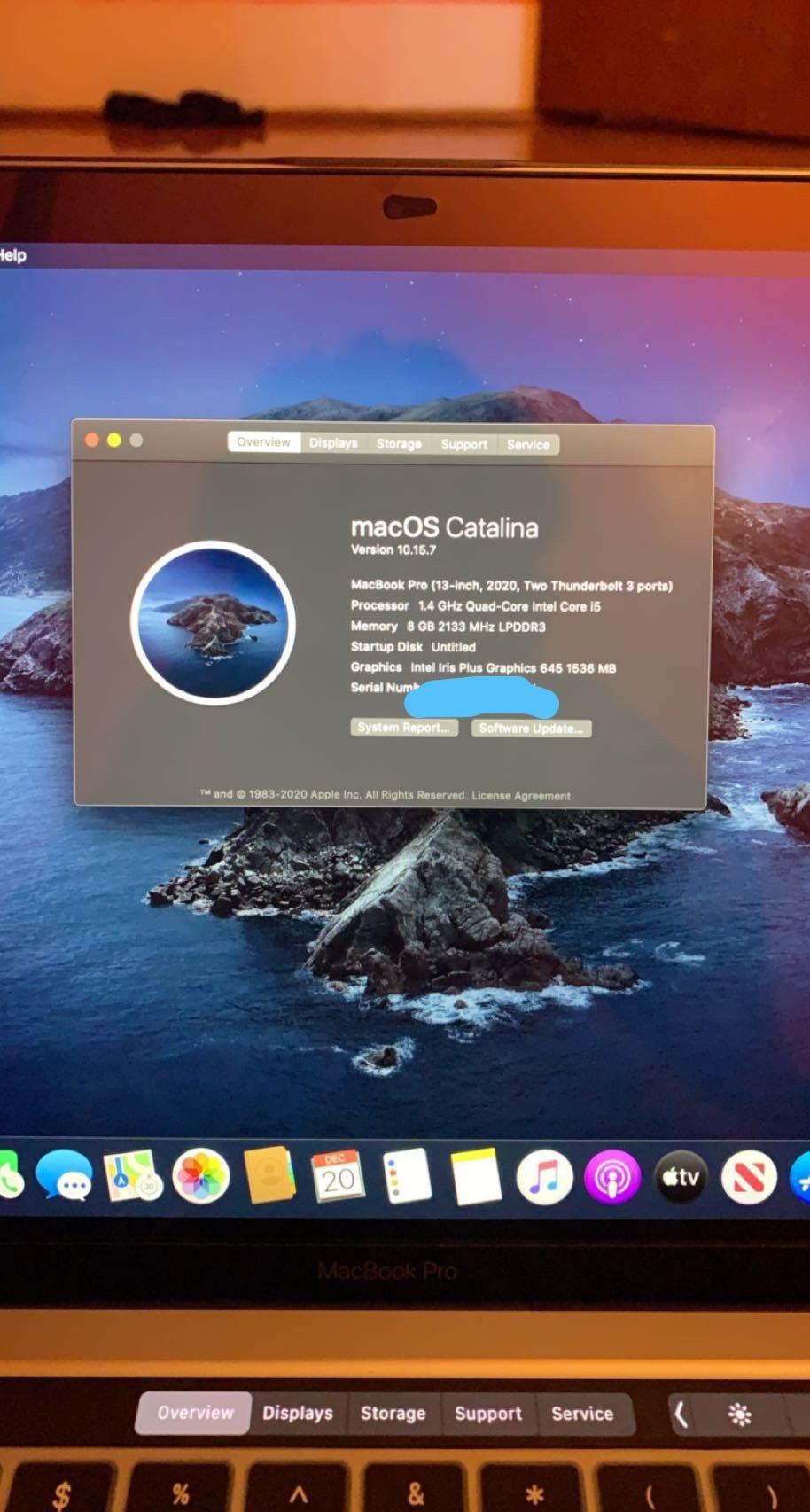 Brand New MacBook Pro 2020