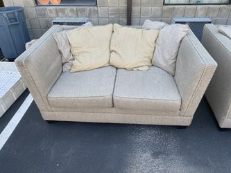 Ashley Furniture Sofa & Love Seat Set Thumbnail