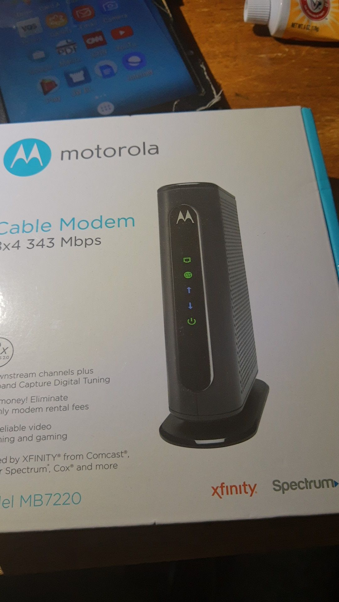 Motorola cable modem 8by4