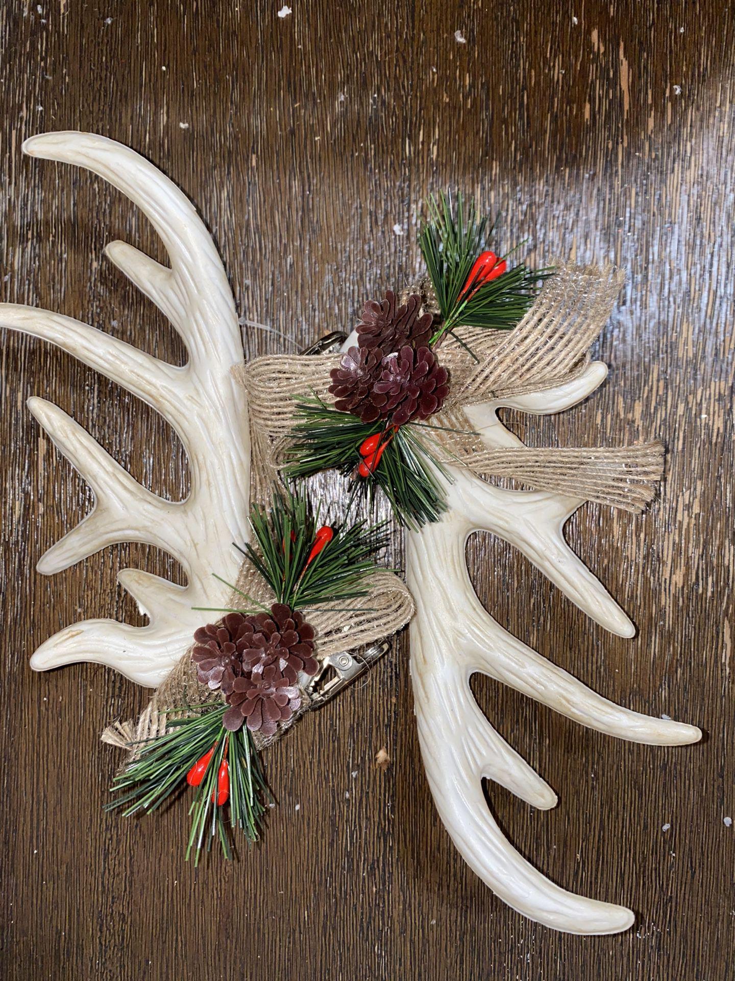 Modern buffalo plaid Christmas package