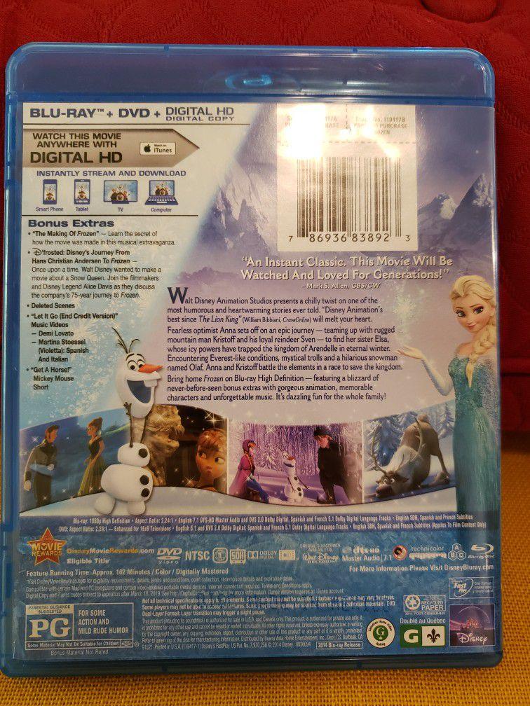 Blu-ray/DVD Disney's Frozen