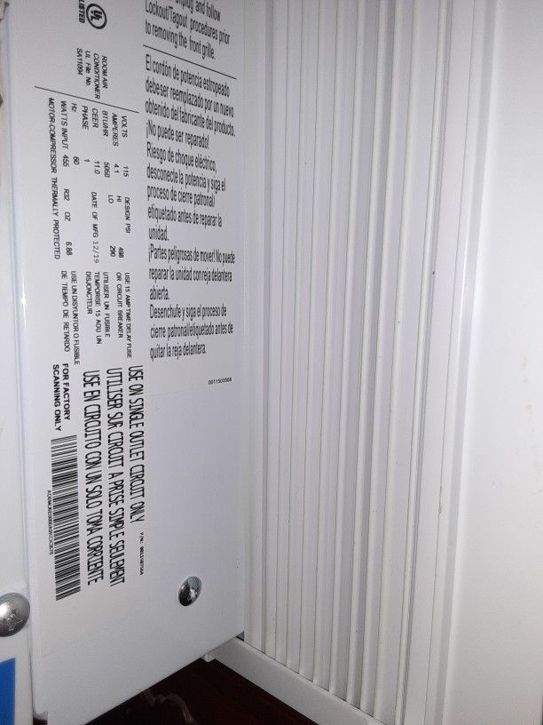 Air Conditioner Room Unit