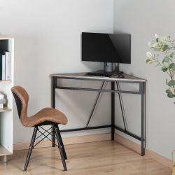 Zenvida Corner Desk, Triangle Computer Desk, Home Office Workstation for Small Space Thumbnail