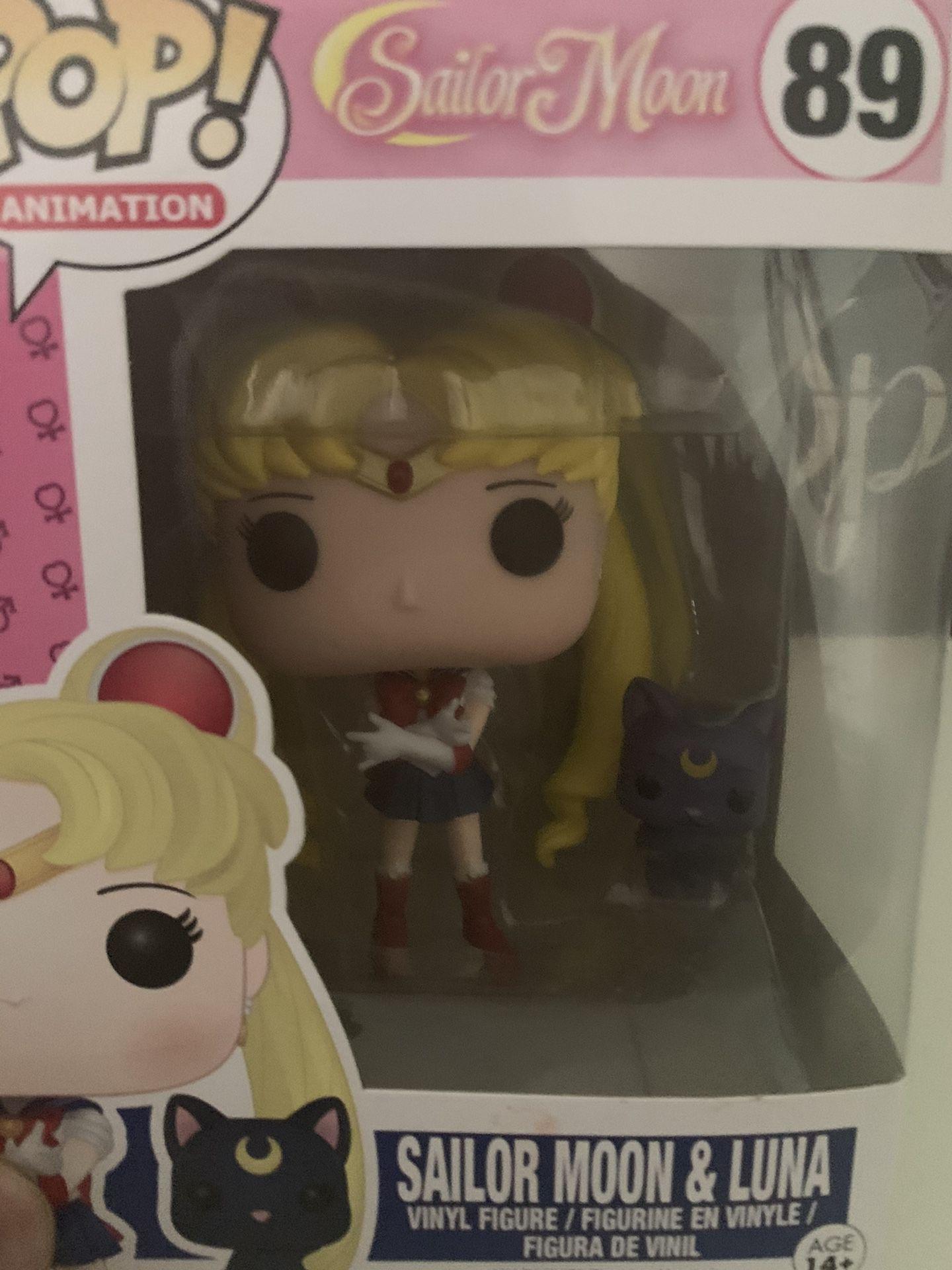 Sailor Moon POP! 89 Sailor Moon & Luna 295 Chibi Moon