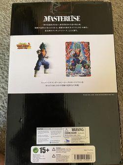 (UNOPENED) Dragon Ball Super, Vegito Blue (SSGSS), Ichibansho Figure, Bandai Thumbnail