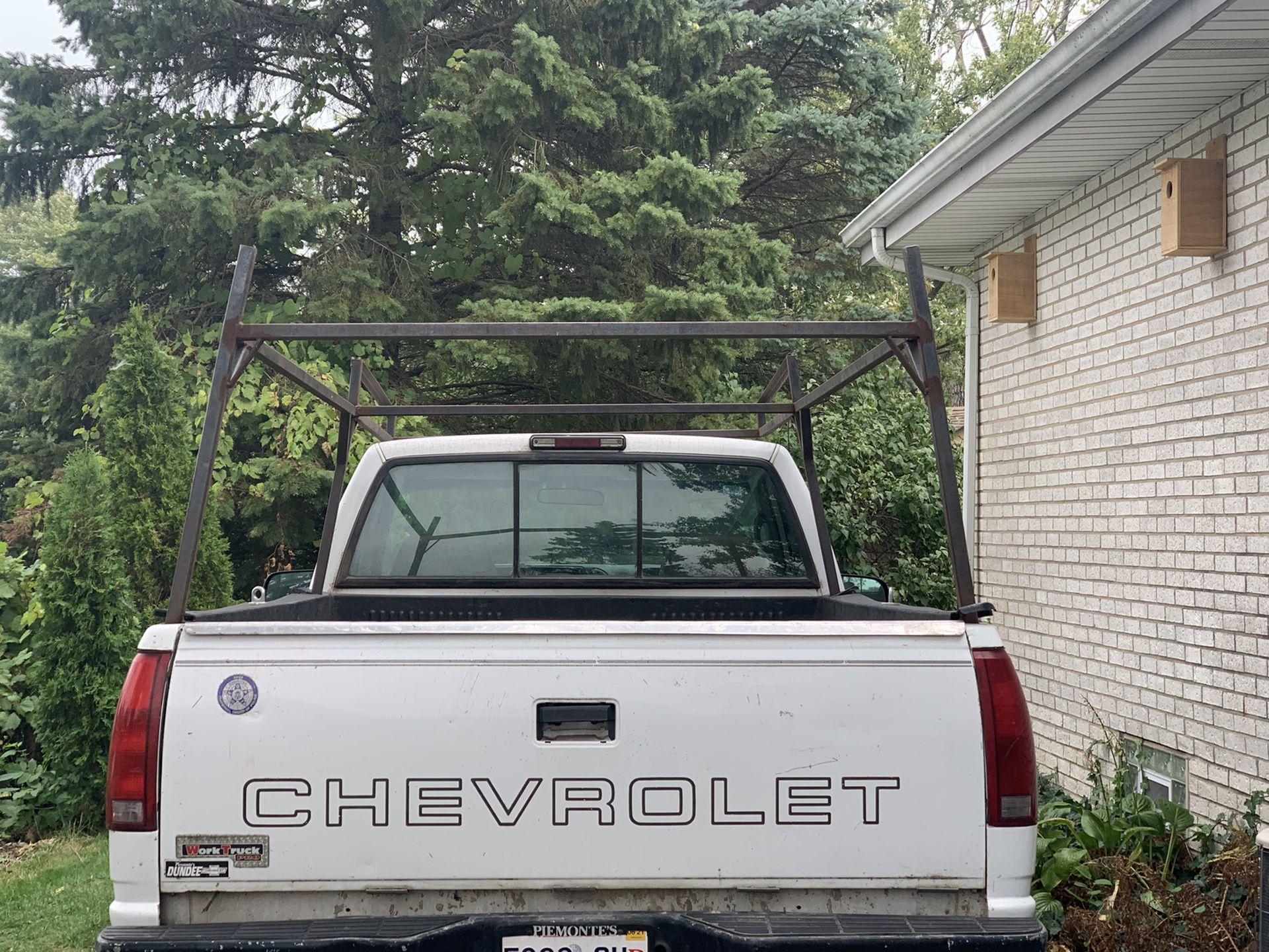 Ladder & Utillity Rack for Pick Up Truck