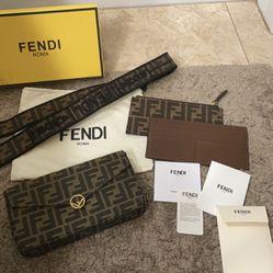 Fendi Baguette Wallet Bag Thumbnail