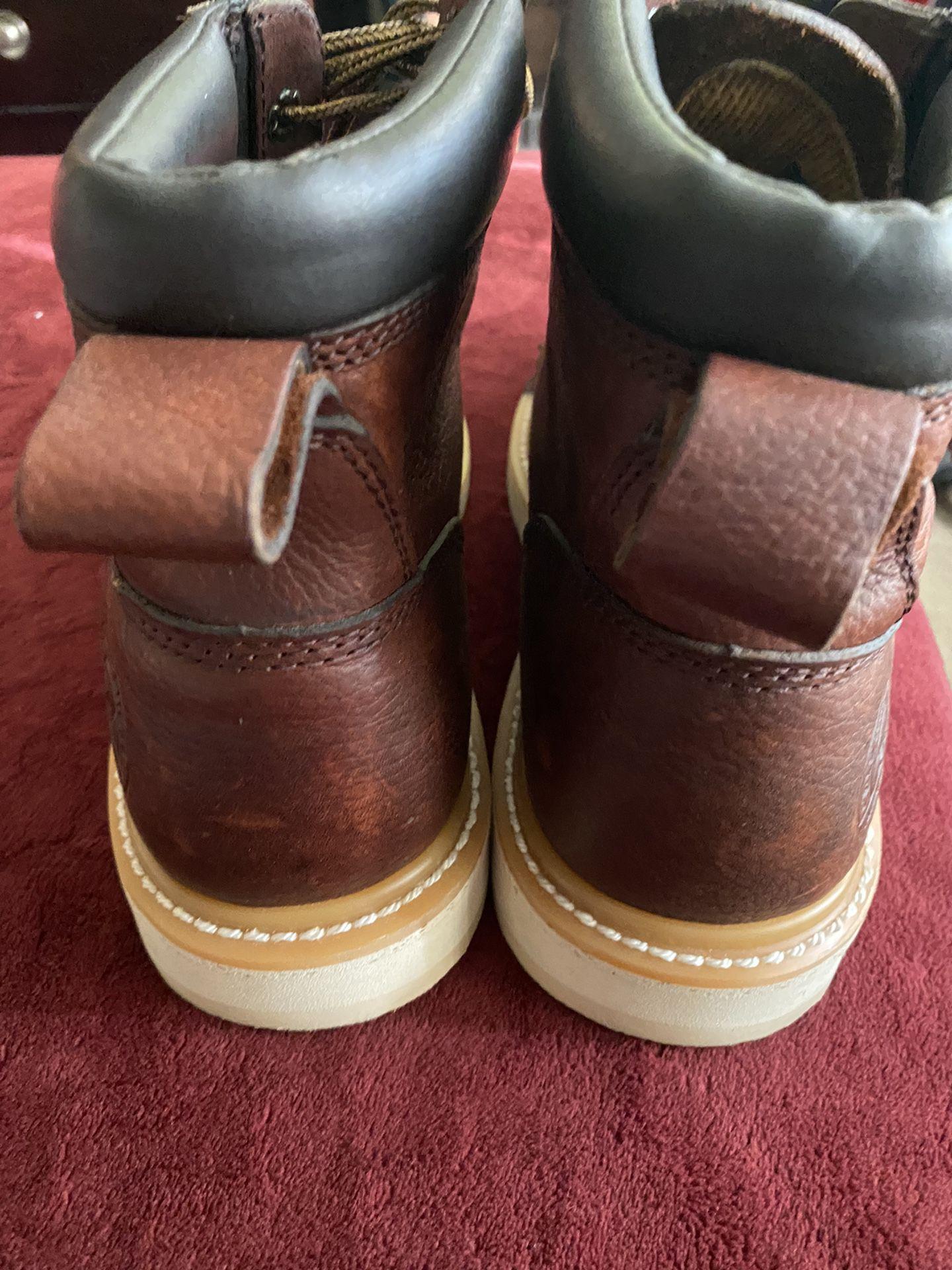 Red Wing Irish Setter Steel Toe Work Boots