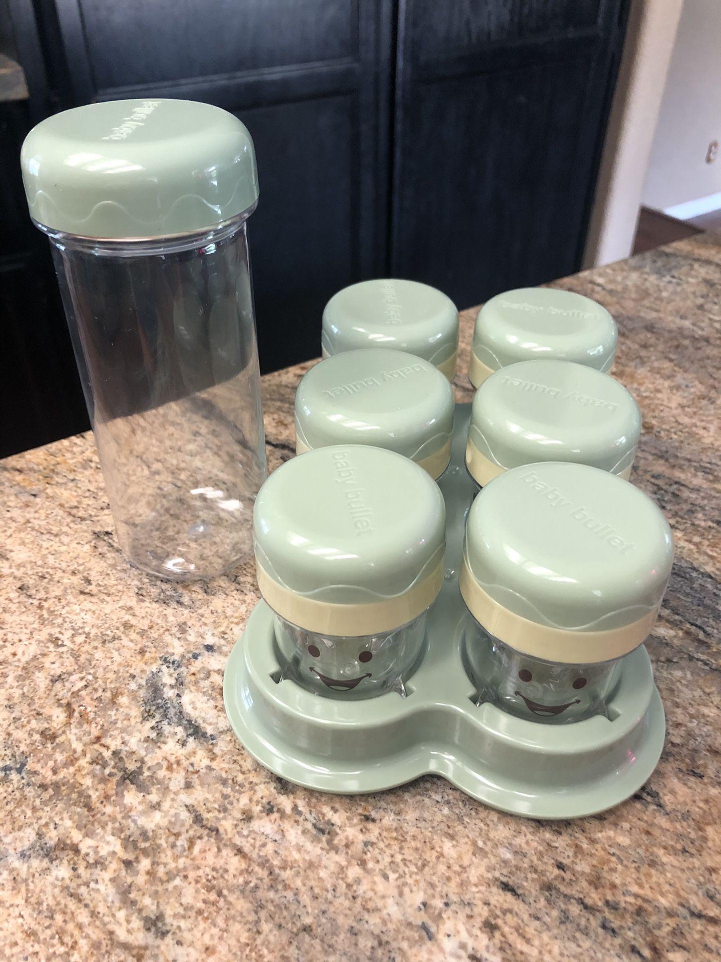 Baby Bullet Storage Set