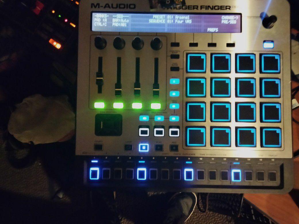 M Audio Trigger Finger Pro