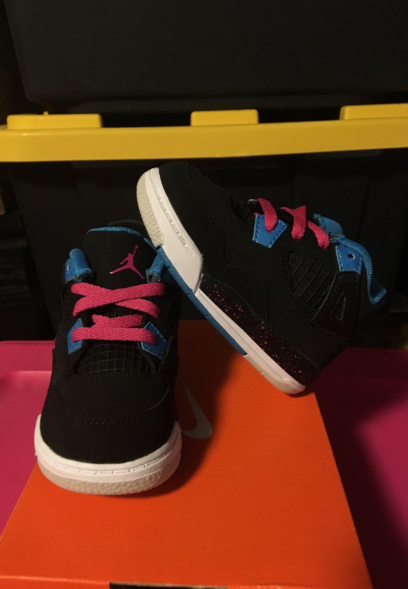 Jordan's girl shoes size 5c Brand New