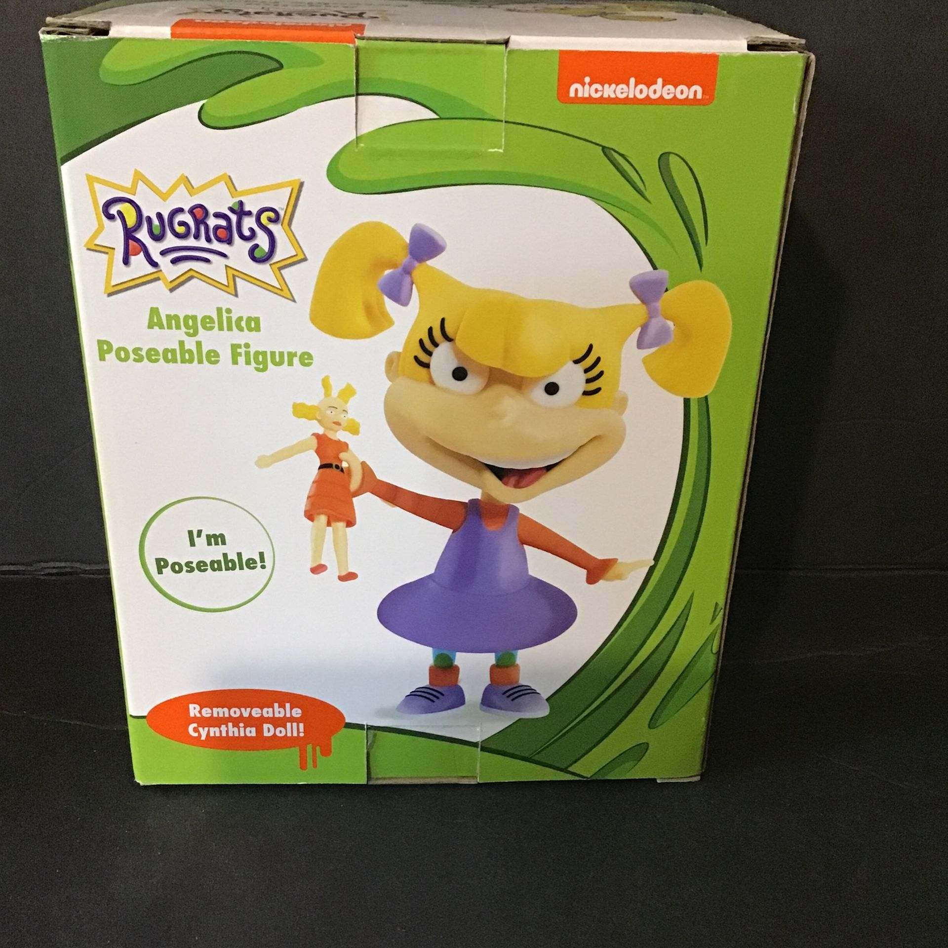 Nickelodeon Just Play - Rugrats Angelica Collectible Figure (Brand New)