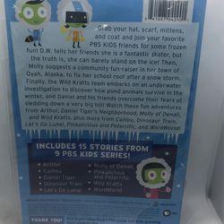 PBS Kids 15 Frozen Tales DVD 📀 New  Thumbnail