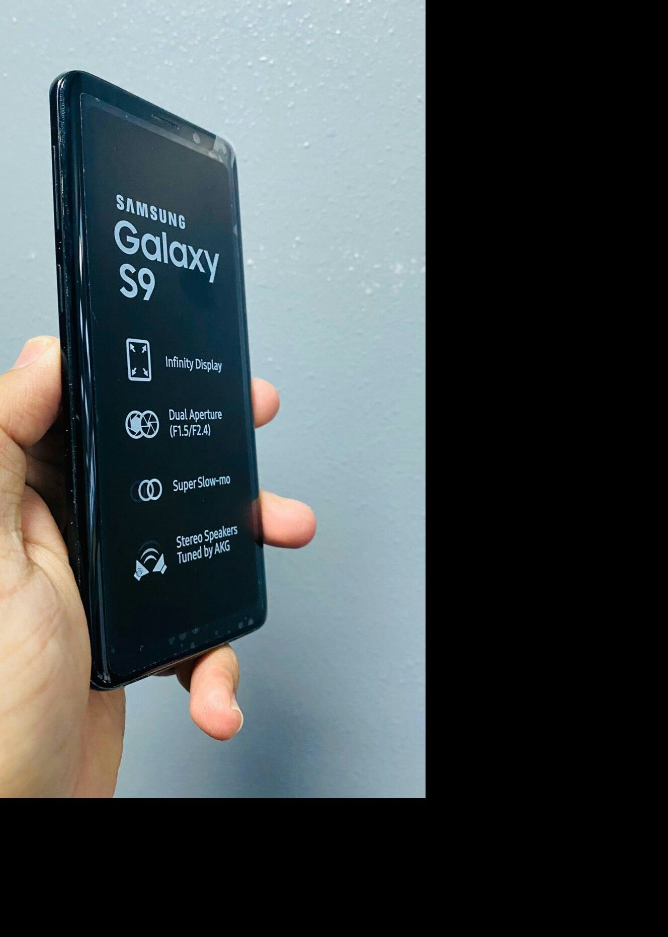 Samsung S9 64gb Unlocked (finance for $40 down, no credit needed) We are a store all phones under warranty $240
