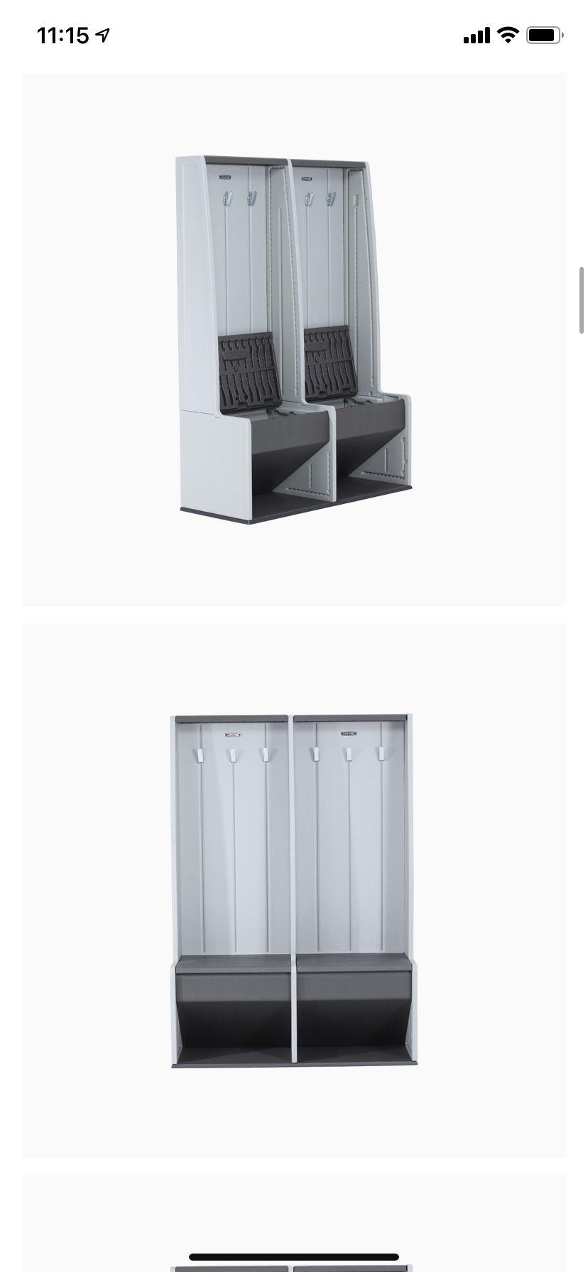 Lifetime Home & Garage Storage Locker (entry Way Hall Tree)