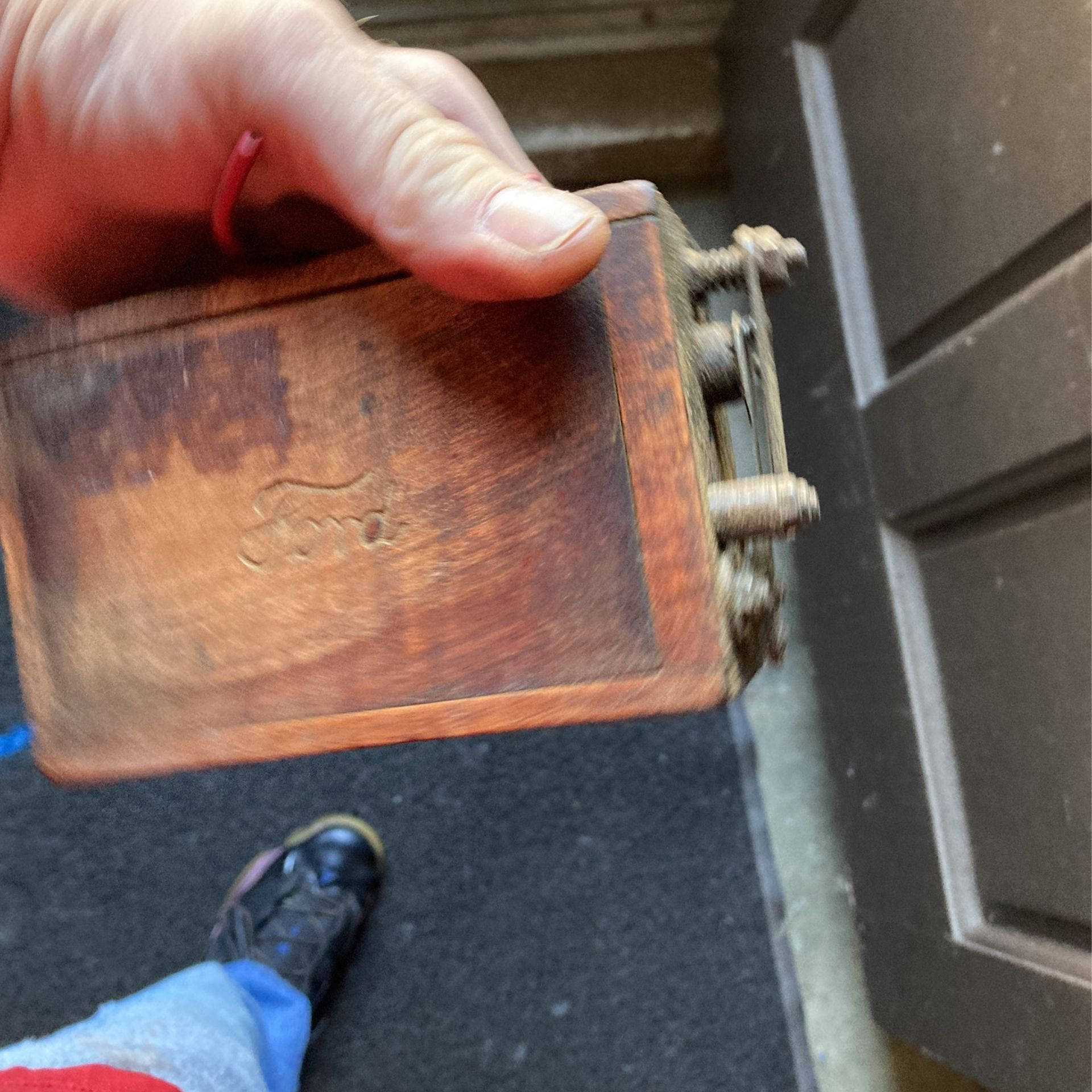 Antique Ford wooden coil