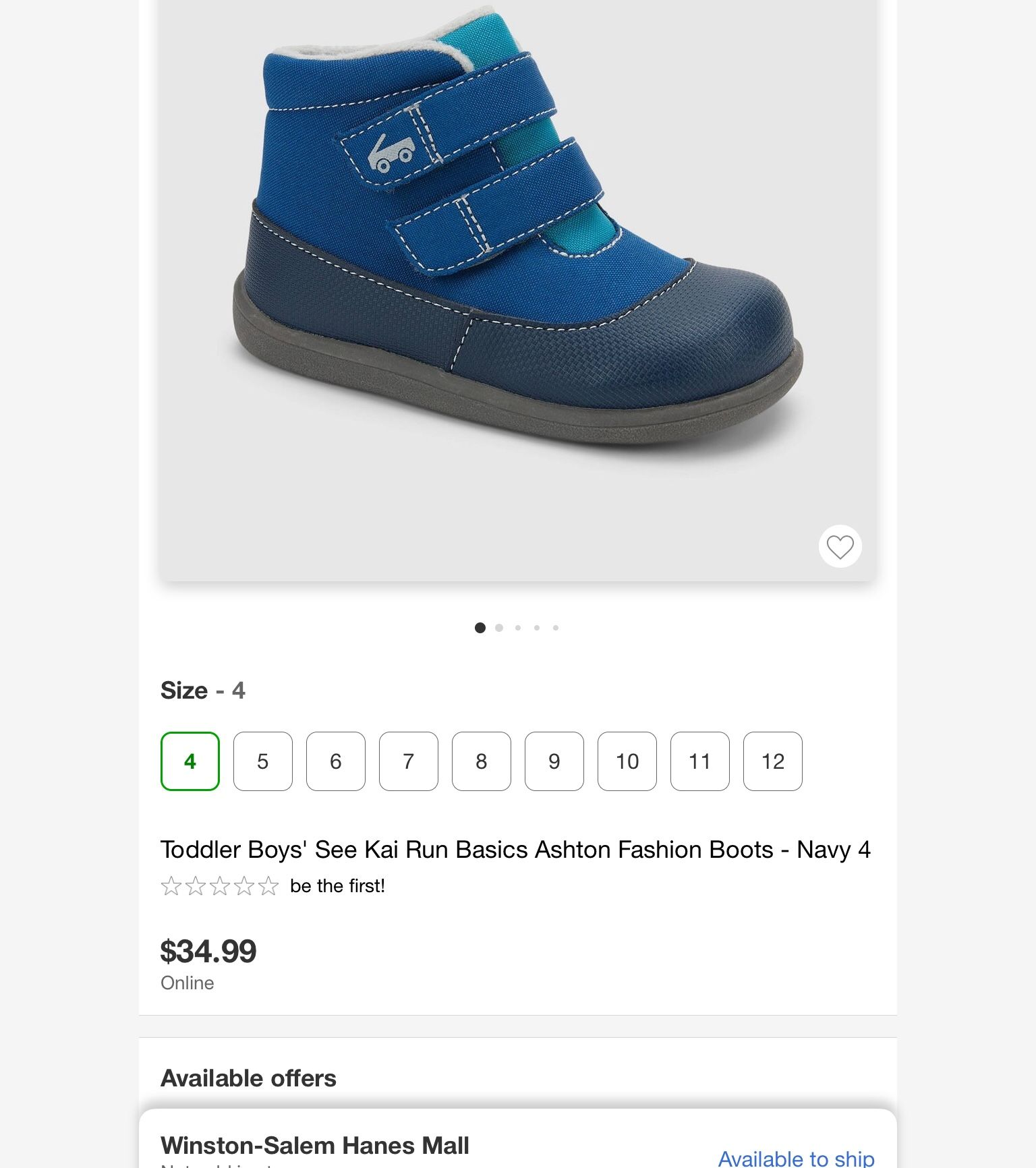Snow Boots Toddler Boy